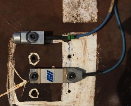 sensor to monitor pile