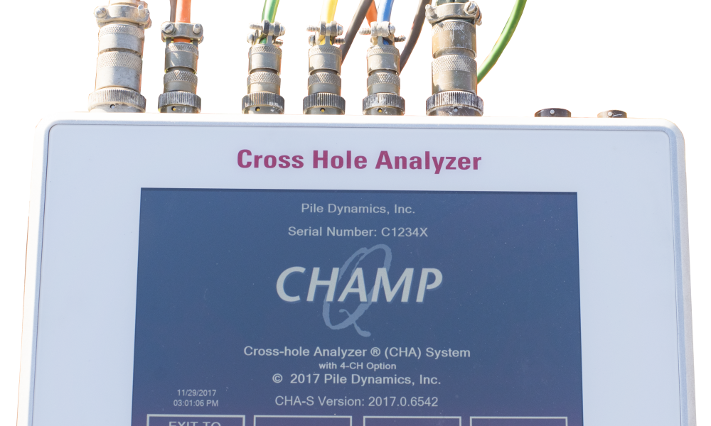 Cross-Hole Analyzer (Champ – Q)