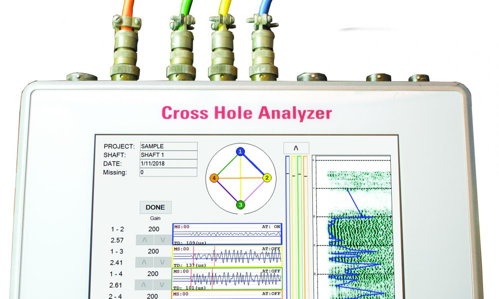 Cross-Hole Analyzer