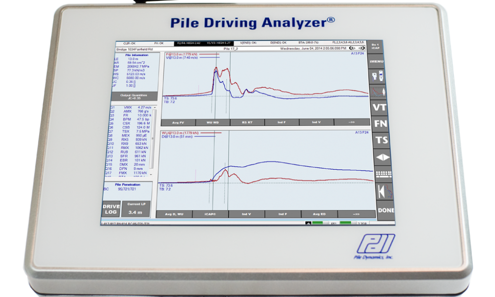 Pile Driving Analyzer System