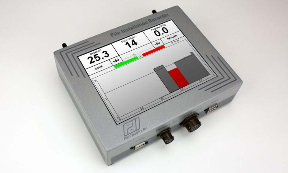 Pile Installation Recorder