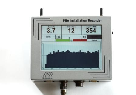 Pile Installation Recorder