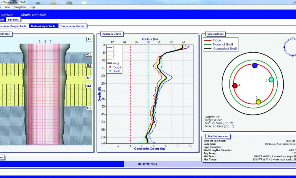 Thermal Integrity Profiler reporter software