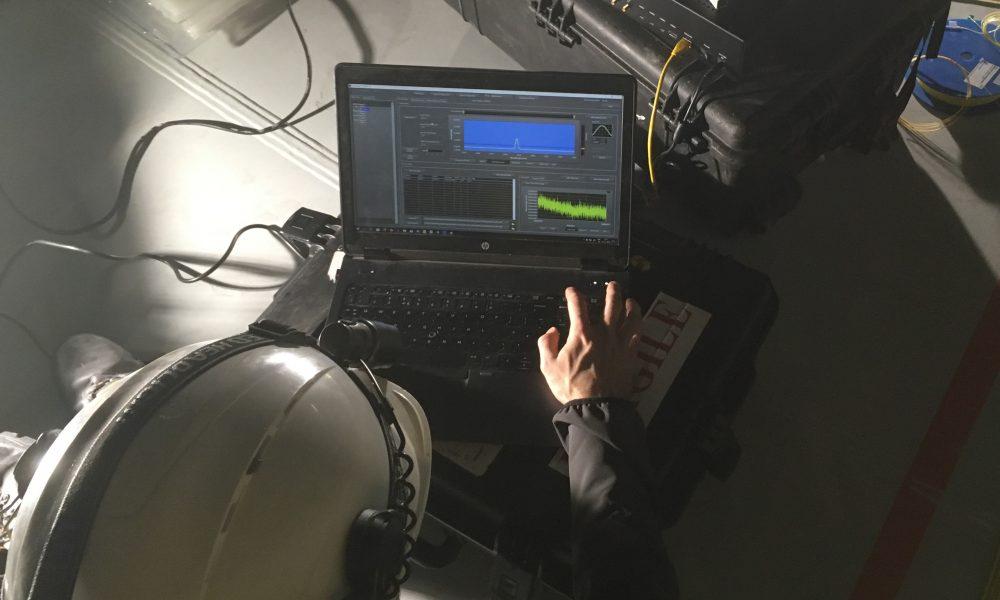 Fiber optic sensor equipment