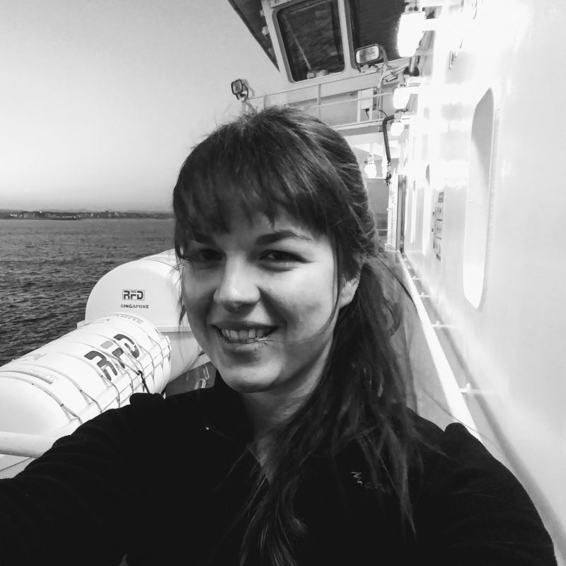 Danae Olichon - Project Engineer - G-Octopus team