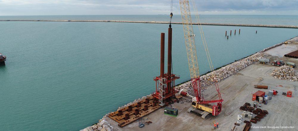 PDM at Calais port