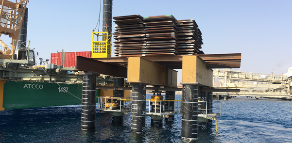 Aqaba static pile test